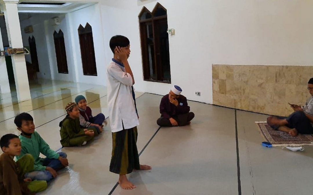 Latihan Adzan untuk Bulan Ramadhan